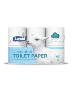 Satin Lambi 3Ply 160 Sheet Toilet Roll