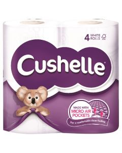 Cushelle 2Ply 180 Sheet Toilet Roll