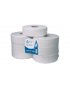 Andarta 2Ply 250m 76mm Core Midi Jumbo Toilet Roll