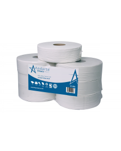 Andarta 2Ply 300m 76mm Core Jumbo Toilet Roll