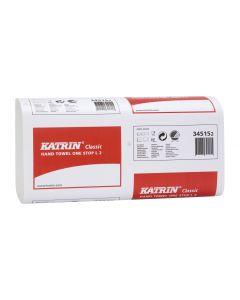 Katrin 2Ply White W/Fold Hand Towel