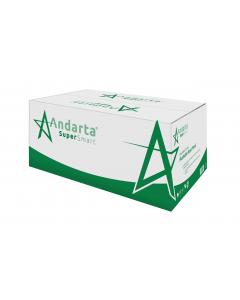 Andarta 2 Ply White V-Fold Flushable Hand Towel (Box 4500)