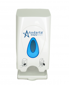 Andarta Twin Toilet Roll Dispenser