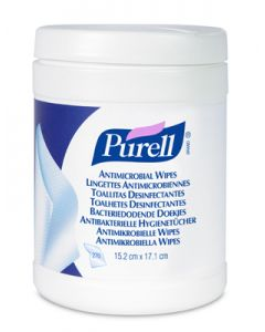 Purell Antimicrobial Plus Hand Wipes 270 Wipes