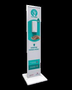 HandSafe Sanitiser Stand