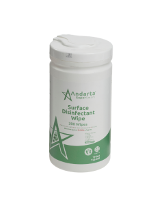 Andarta Surface Disinfectant Wipes - Tub of 200 (Tub 200)