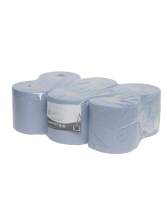 Andarta 2Ply 18cmx150m Blue Centrefeed Roll (Pack 6)