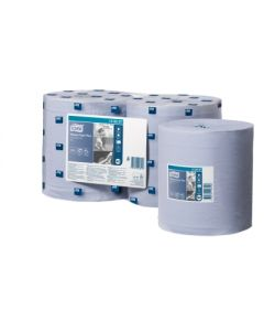 Tork Advanced 420 Blue Centrefeed Roll (Pack 6)
