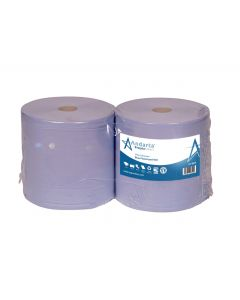 Andarta 2Ply Blue Embossed Floorstand Roll (Pack of 2)