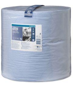 2Ply Blue Tork Advanced Wiper Roll