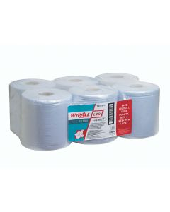 Wypall L20 Extra Wiper 2Ply White Centrefeed Roll (Pack 6)