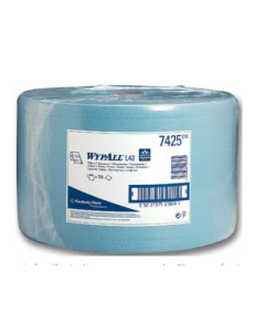 Wypall L40 Wipers Blue Airflex Centrefeed Roll (750 Sheet)