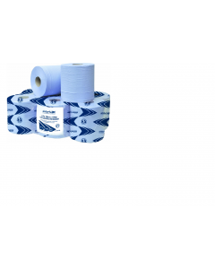 Andarta Blue Single Sheet Centrefeed Roll