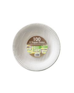 """9"""" Paper Plate (Box 1000)"""