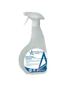 Andarta Spray and Wipe Surface Sanitiser Food Safe