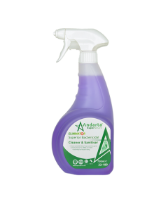 Andarta Superior Bactericidal Cleaner and Sanitiser Trigger Spray (1x750ml)