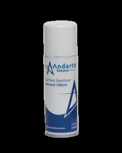 Andarta Surface Sanitiser Aerosol 200ml