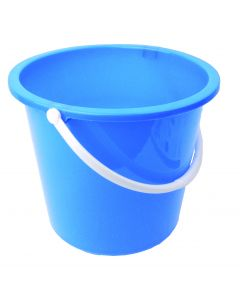 10Ltr Plastic Bucket Blue
