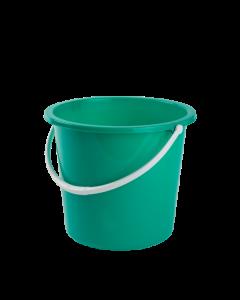 10Ltr Plastic Bucket Green