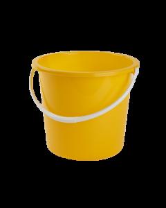 10Ltr Plastic Bucket Yellow