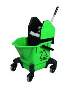 20Ltr Mop Bucket & Wringer Green