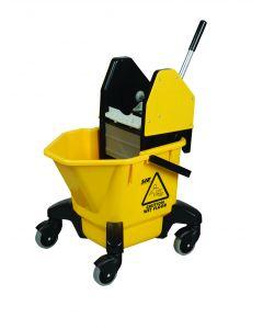 20Ltr Mop Bucket & Wringer Yellow