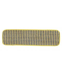 Microfibre Flat Scrub Pulse Mop Head Yellow