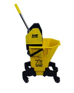 Mop Bucket and Wringer - Yellow