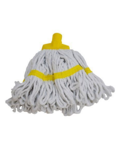 Freedom II Maxi Looped Syrtex Mop Yellow (White Yarn)