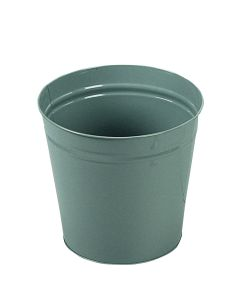 15Ltr Metal Waste Bin (1 x 15Ltr Grey Bin)