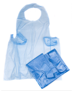 Blue Flat Packed Aprons