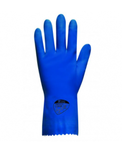 Optima Medium Weight Natural Rubber Glove (Blue) (Pack of 12)