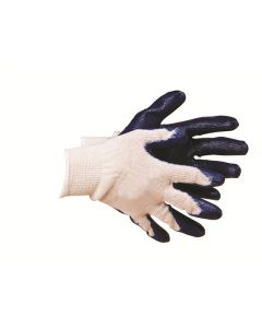 Latex Palm Coated Glove Medium 10 Pairs