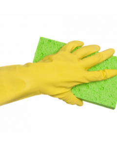 Rubber Gloves M/W Yellow (12 pairs)