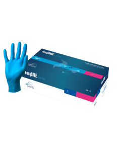 Blue Powderfree Nitrile Gloves - Medium (Box of 200)