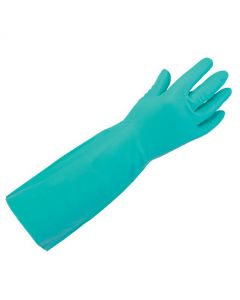 40cm Elbow Length Nitrile Gauntlet Size 10
