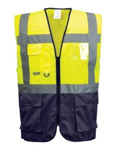 Yellow Navy Vest X Large