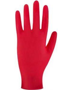 Ultra Nitrile Powderfree Glove Red Lrg