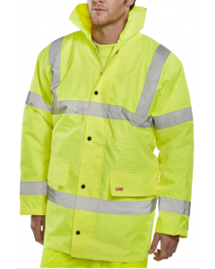 Hi-Vis Jacket Yellow 2XL