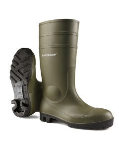 Green PVC Safety Wellingtons