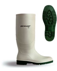 White Non-Safety Wellingtons Size 11 Eur 46