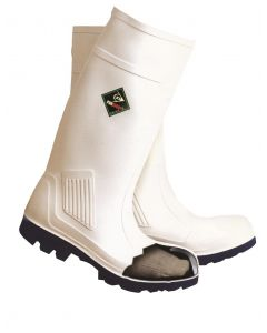 Purofort White Safety Wellingtons