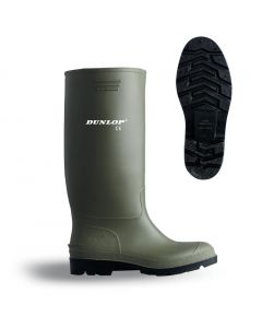 Green Non Safety Wellingtons