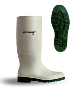 White Non-safety Wellingtons