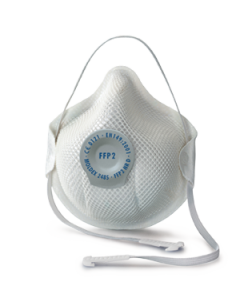 Smart FFP3 Respirator with Comfort Nose Seal & Clip-on Head Strap