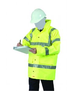 Hi-Vis Jacket Yellow Medium