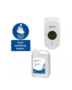 Complete Hand Sanitiser Station Kit - Automatic Dispenser