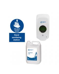 Complete Hand Sanitiser Station Kit - Automatic Dispenser