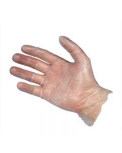 Clear Vinyl Gloves - Small (Box 100)