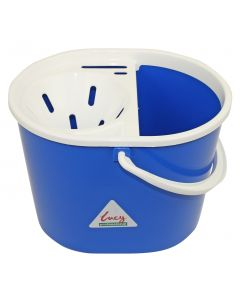15Ltr Lucy Oval Mop Bucket with Wringer